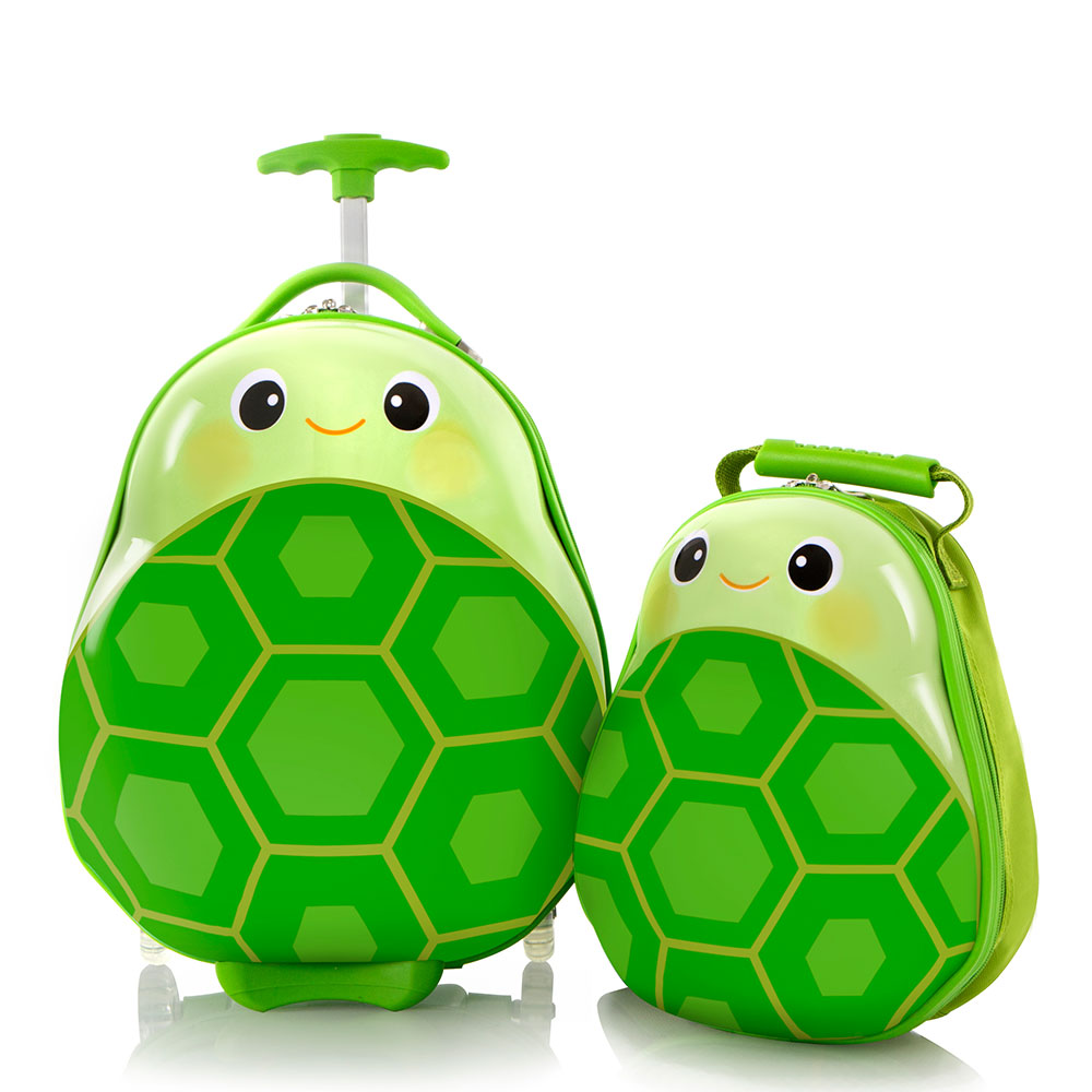 Heys Travel Tots Kinderkoffer Met Rugzak Turtle
