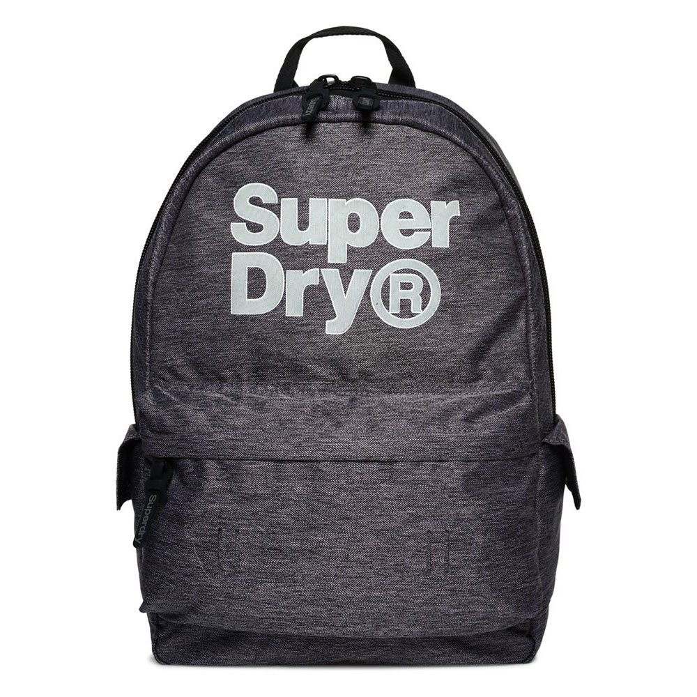 Superdry Montana Backpack Logo Grey