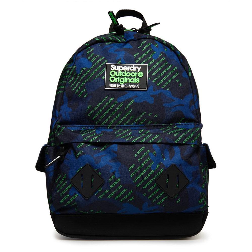 Superdry Montana Backpack Logo AOP Camo