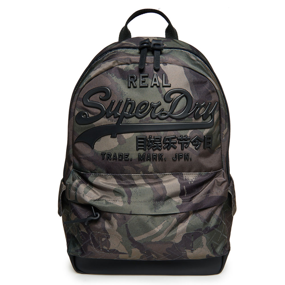 Superdry Premium Goods Backpack Outline Army Camo