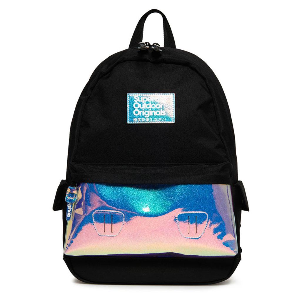 Superdry Montana Holo Pocket Backpack Black