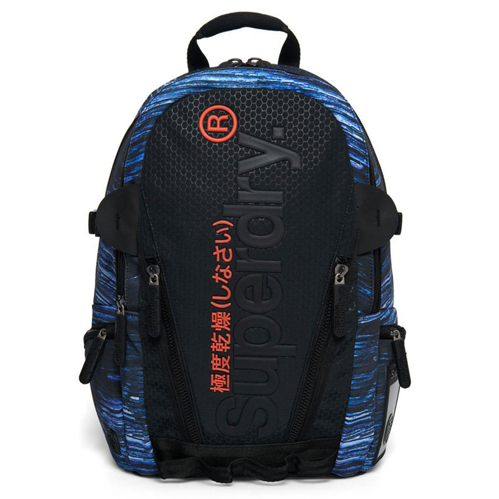 Superdry Tarp Bubble Backpack Black Print