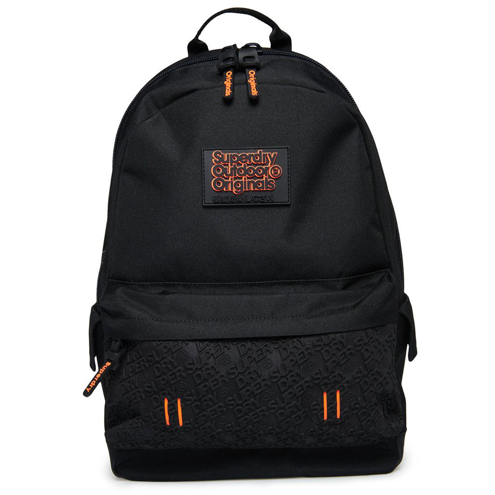 Superdry Montana Neoprene Emboss Panel Backpack Black