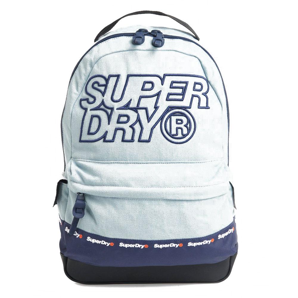Superdry Montana Backpack Manifest Wash Denim