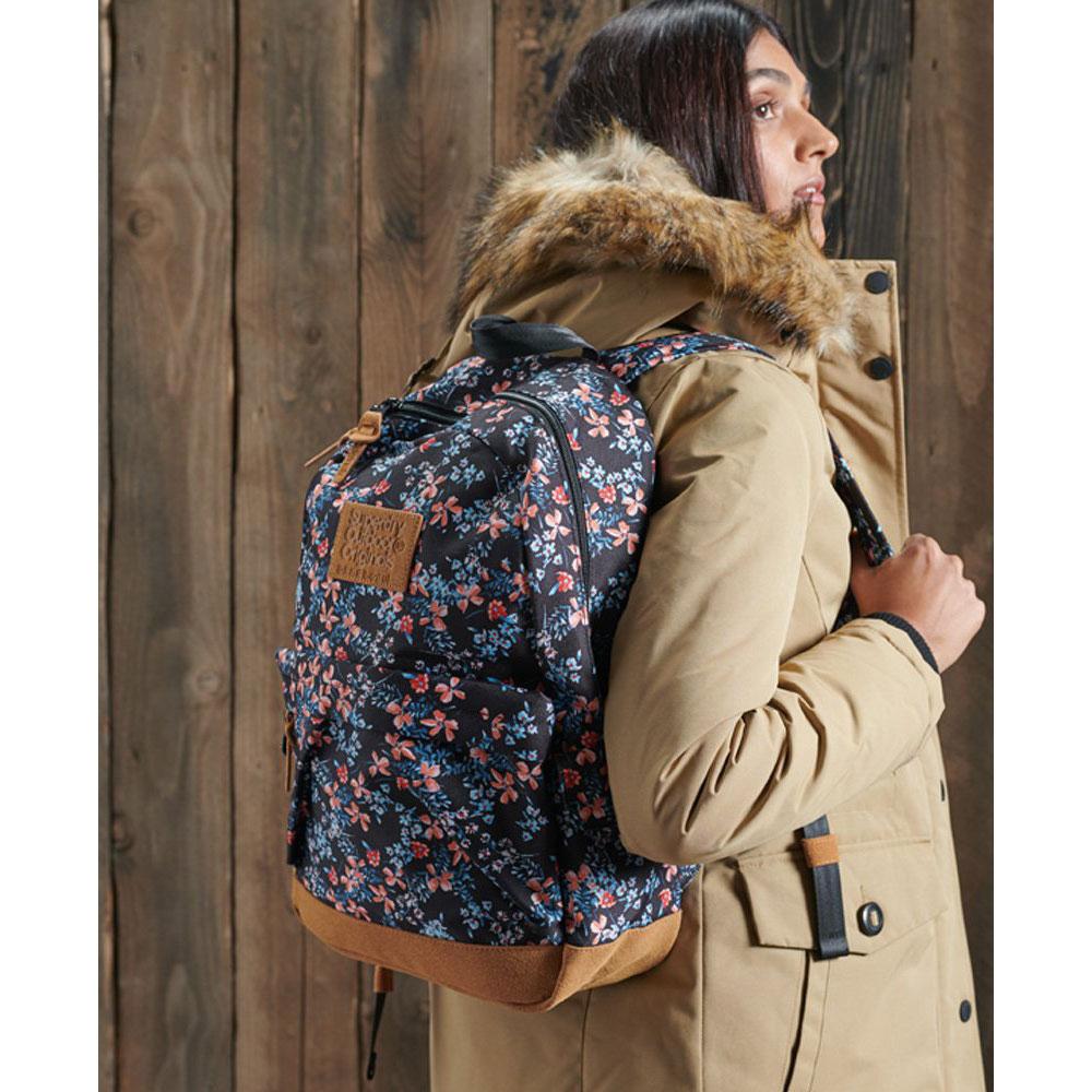Superdry Montana Print Edition Backpack Autumn Daisy