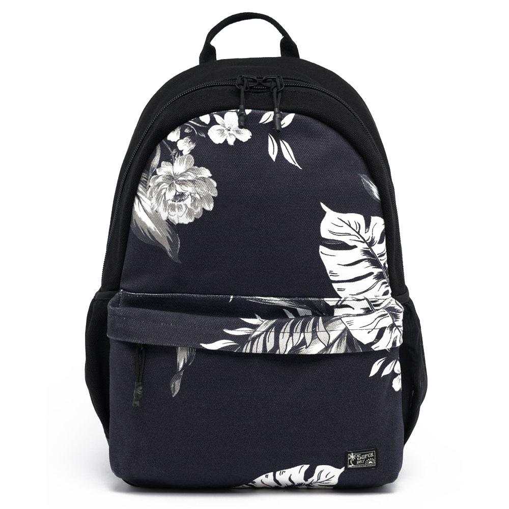 Superdry Montana Vintage Cali Print Backpack Black Hawaiian
