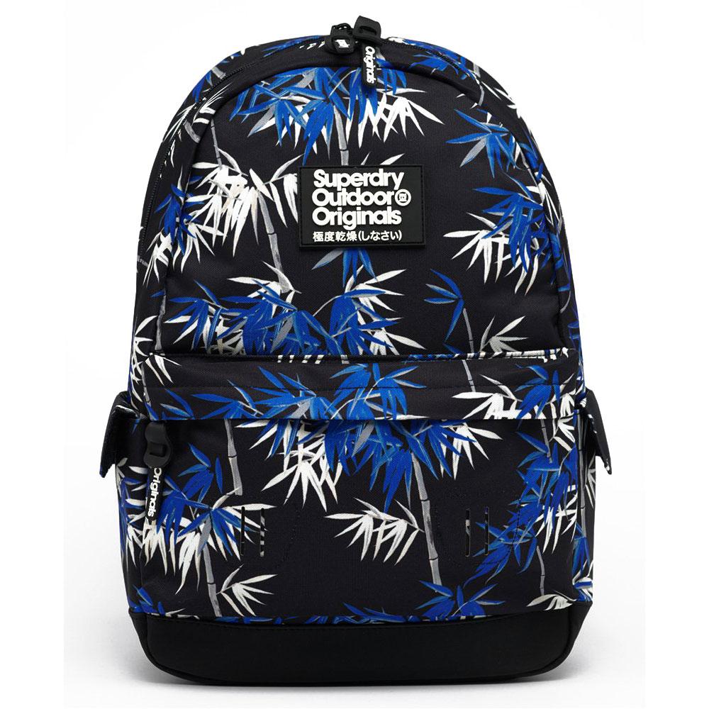 Superdry Montana Vintage Hawaiin Backpack Black AOP