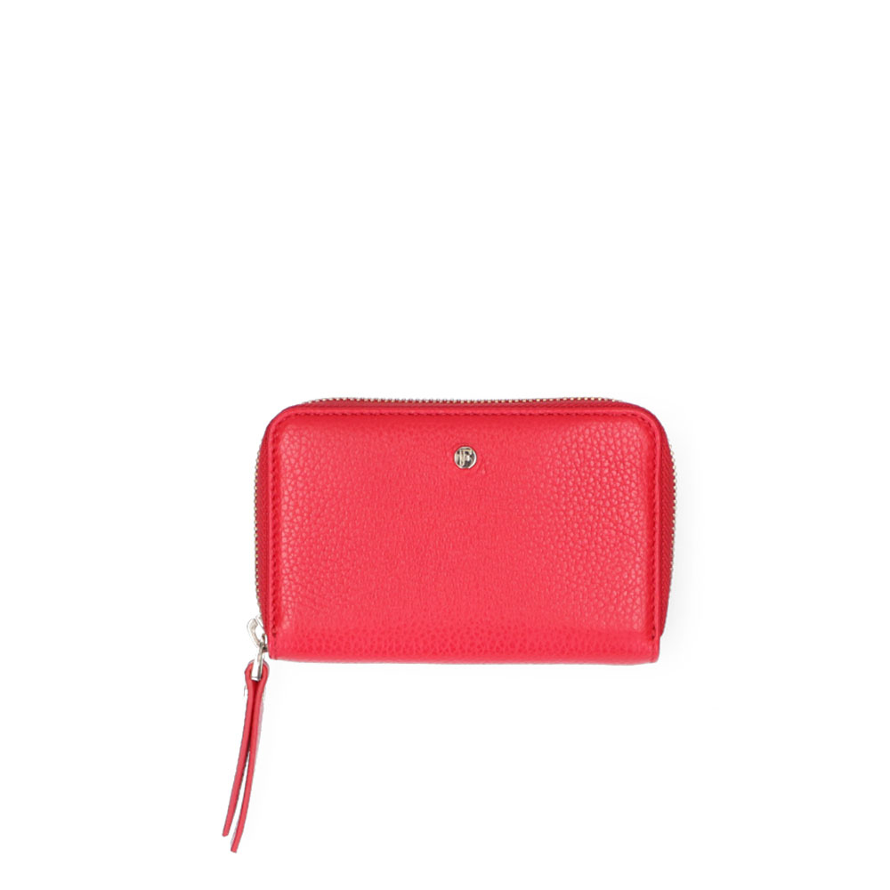 FMME Wallet Small Grain Red