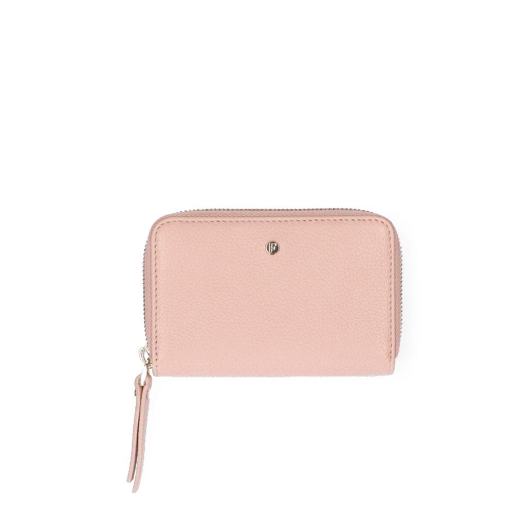 FMME Wallet Small Grain Pink Latte