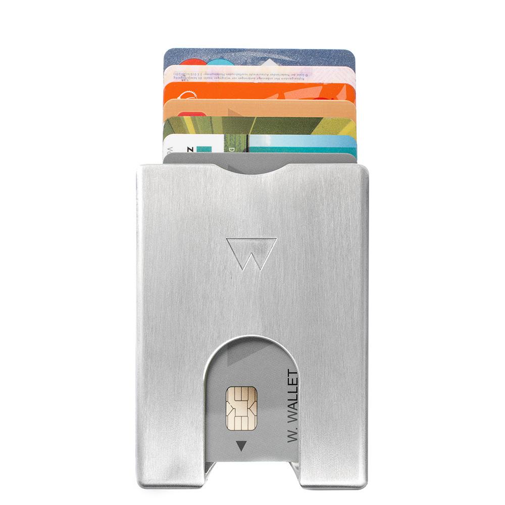 Walter Wallet Pasjeshouder Aluminium