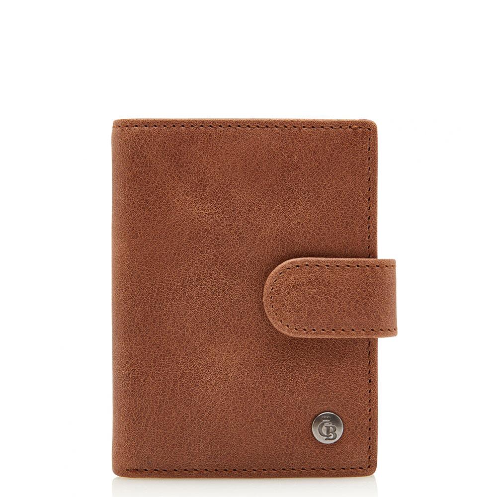 Castelijn & Beerens Carisma RFID Mini Wallet Cognac