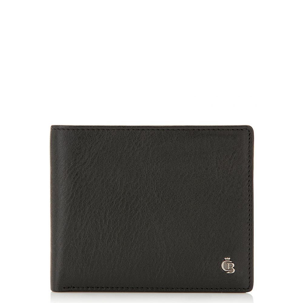 Castelijn & Beerens Nova Billfold ID Portemonnee 8 CC Zwart
