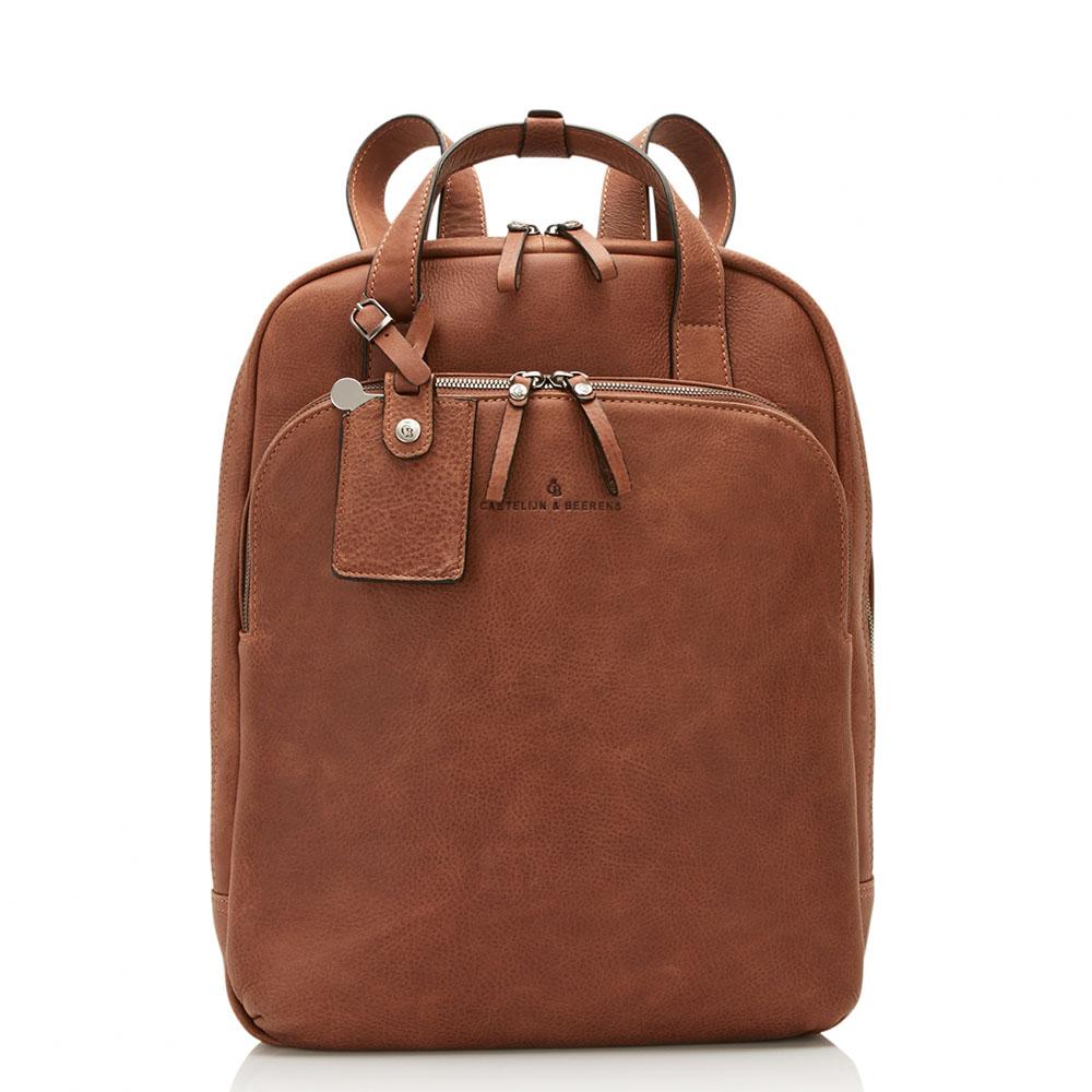Castelijn & Beerens Carisma Laptop Rugtas 15.6'' Cognac 9577