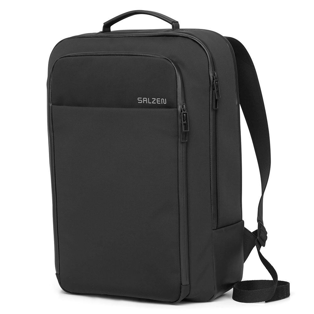 Salzen Sleek Line Fabric Business Backpack Phantom Black