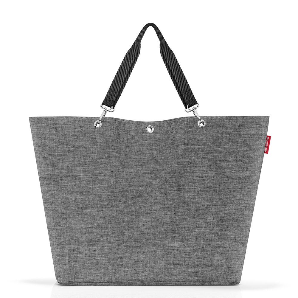 Reisenthel Shopper XL - Strandtas Twist Silver