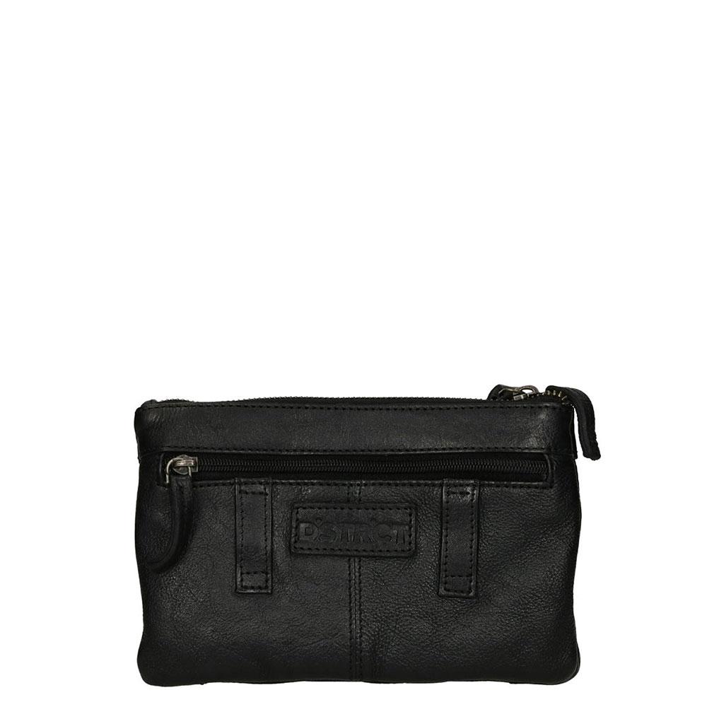 DSTRCT Harrington Road Small Bag With Belt Loops Black