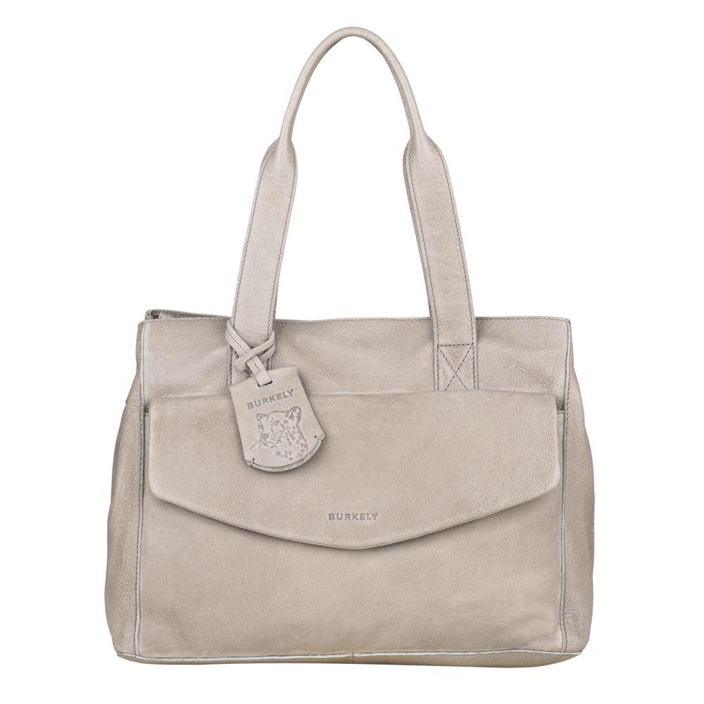 Burkely Just Jackie Handbag M Light Grey