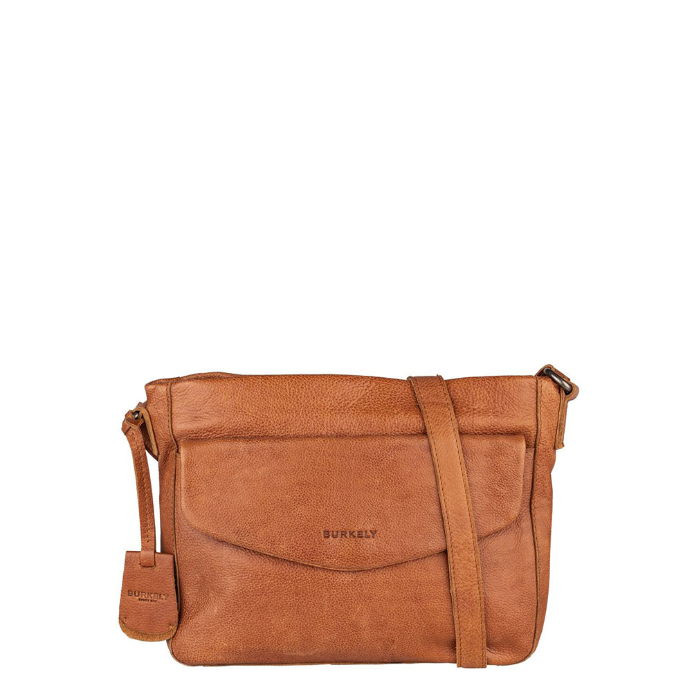 Burkely Just Jackie Crossover L Flap Cognac