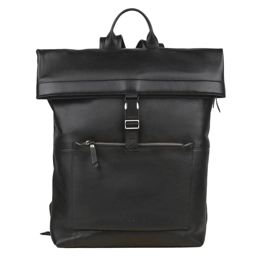 Burkely Suburb Seth Backpack Rolltop 15.6 Black