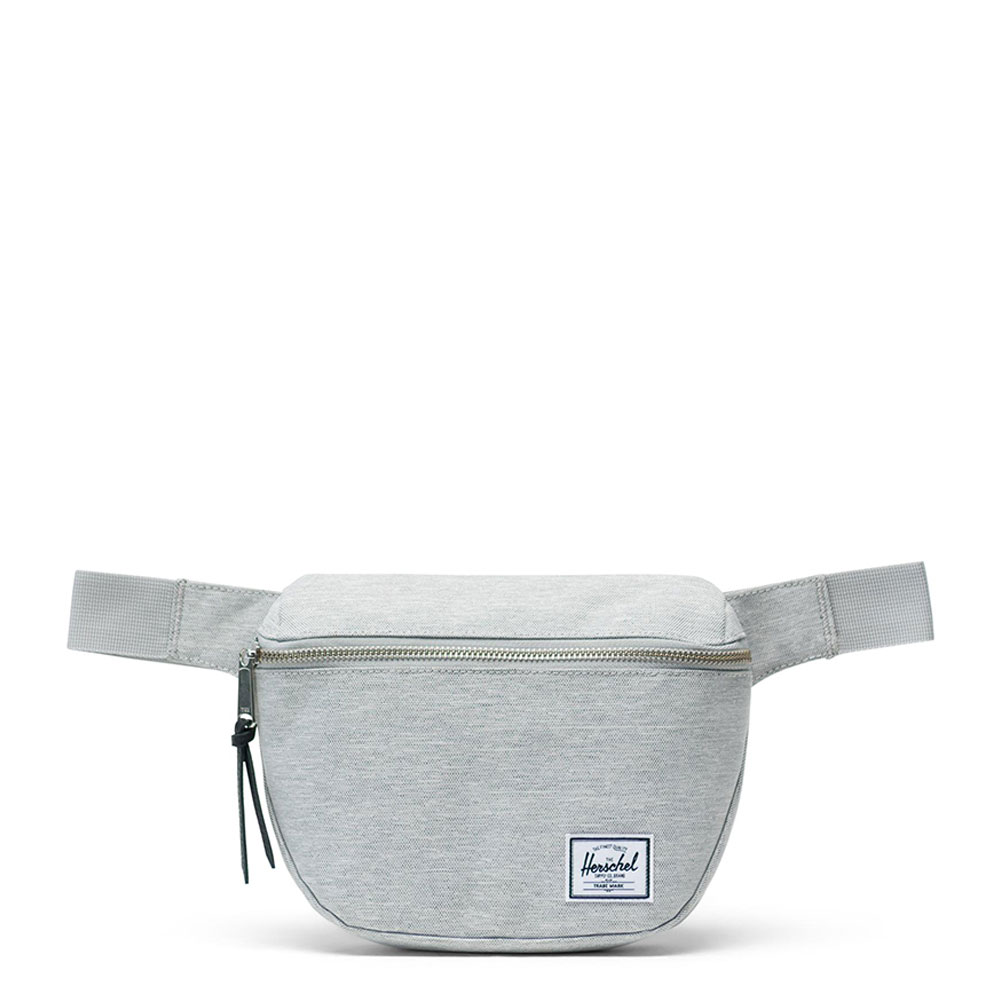 Herschel Fifteen Heuptas Light Grey Crosshatch