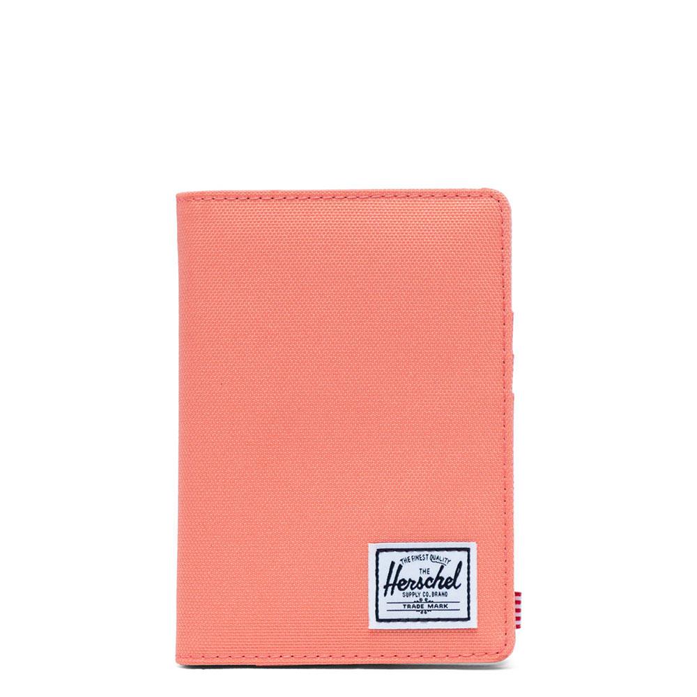 Herschel Raynor Passport Holder RFID Fresh Salmon