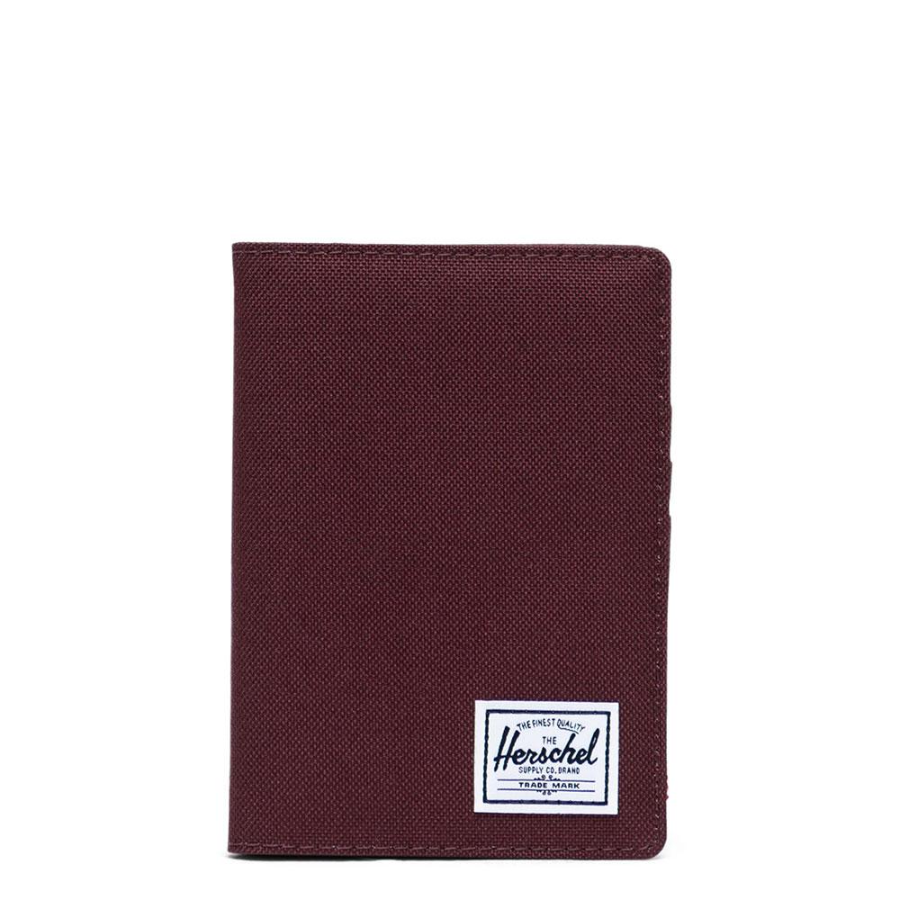 Herschel Raynor Passport Holder RFID Plum
