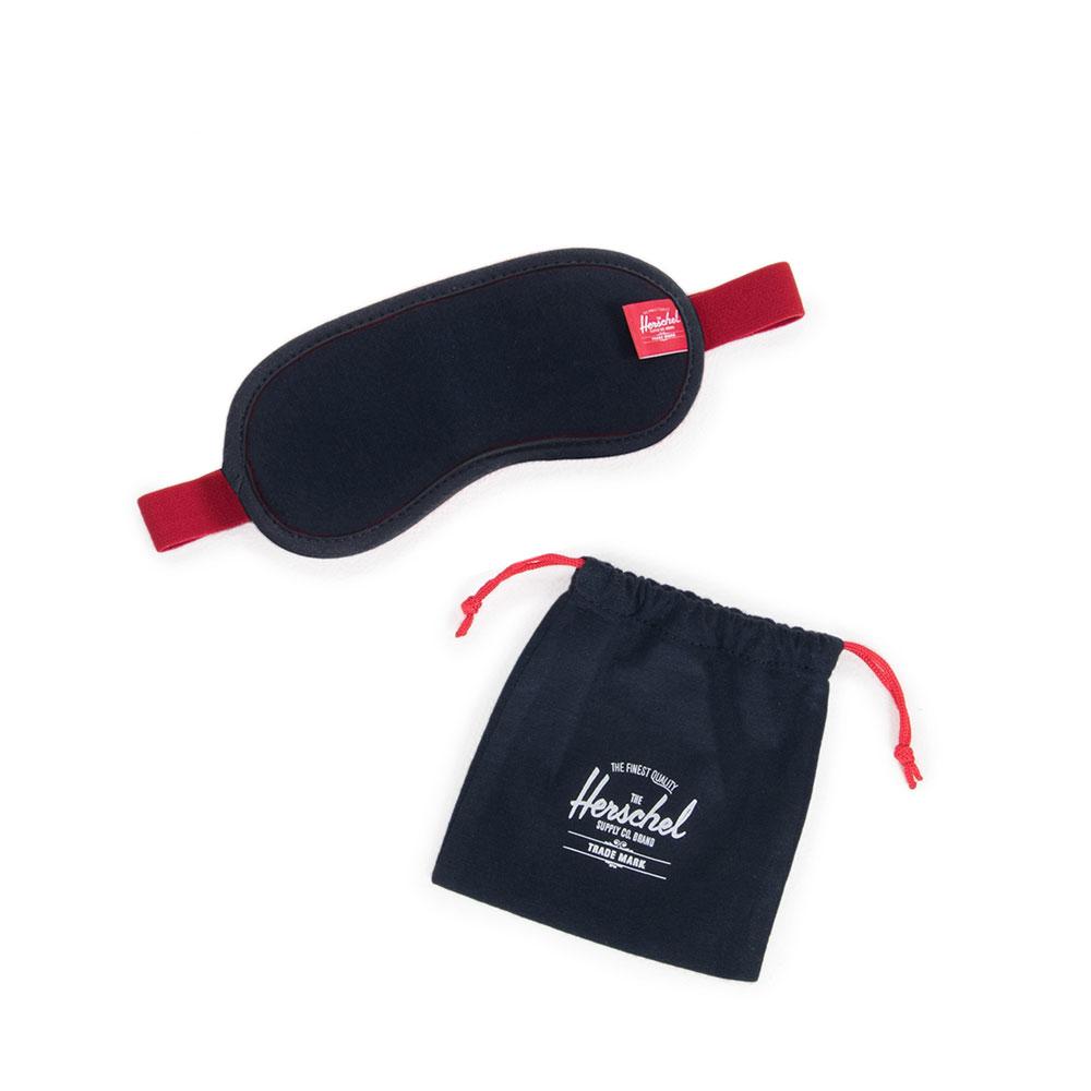 Herschel Travel Accessoires Eye Mask Navy/Red