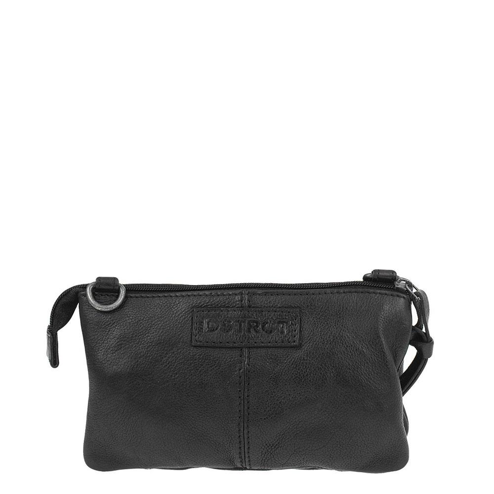 DSTRCT Harrington Road Small Bag Clutch Schoudertas Black