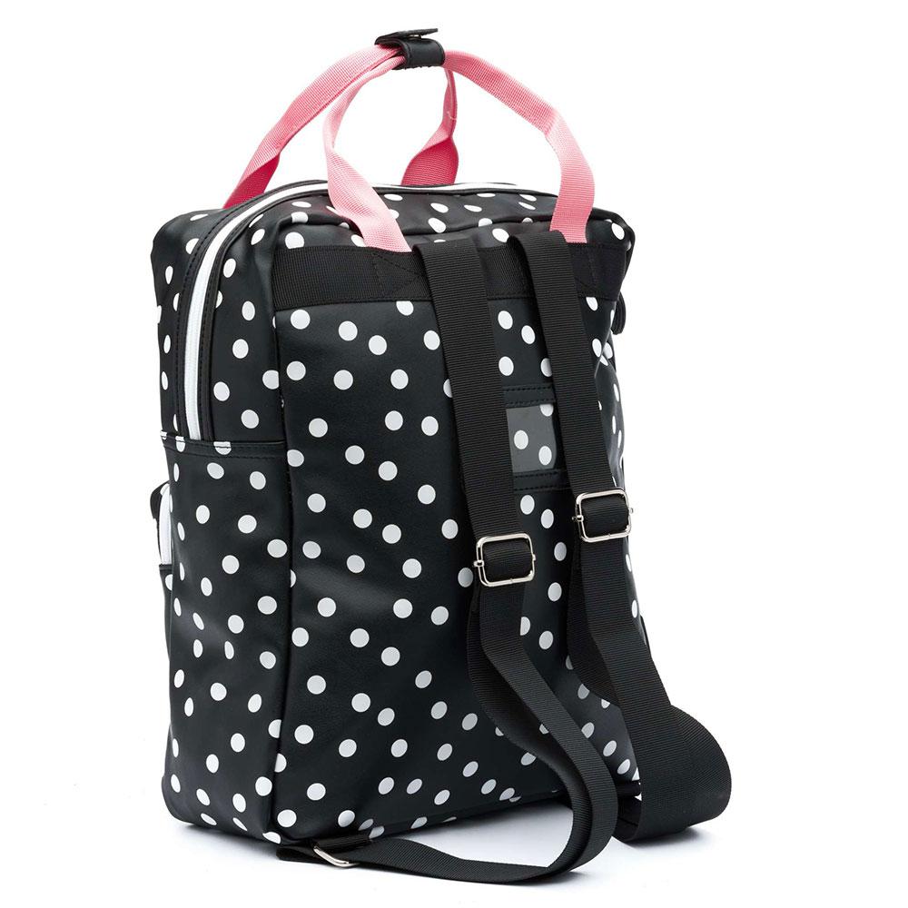 c3869f4f229 Zebra Trends Girls Rugzak L Dots Black