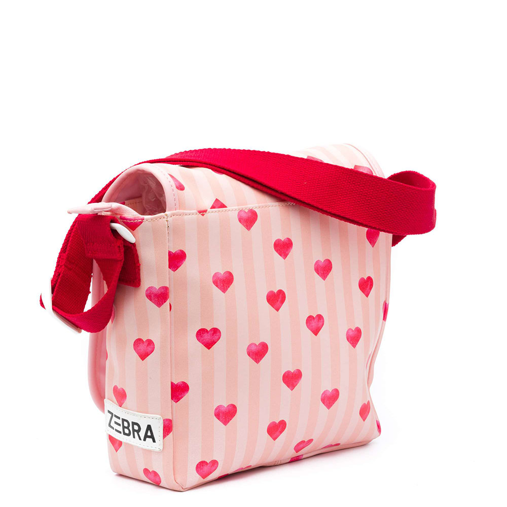 Schouder tas Stripes & Hearts