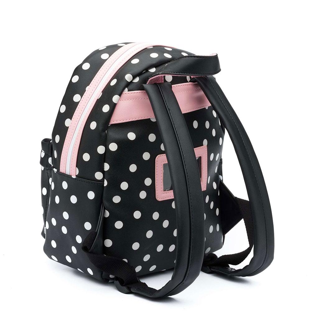 898e6c0447b Zebra Trends Girls Rugzak S Dots Black