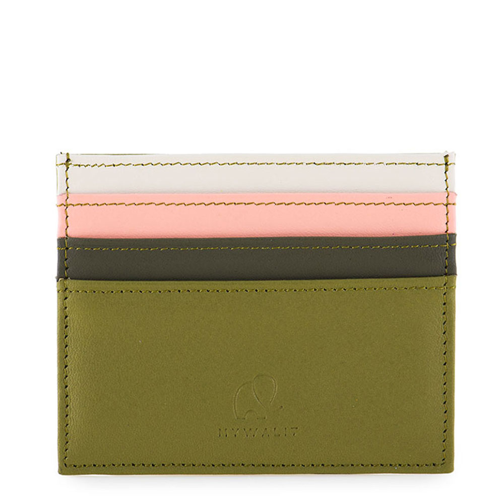 Mywalit Double Sided Credit Card Holder Olive