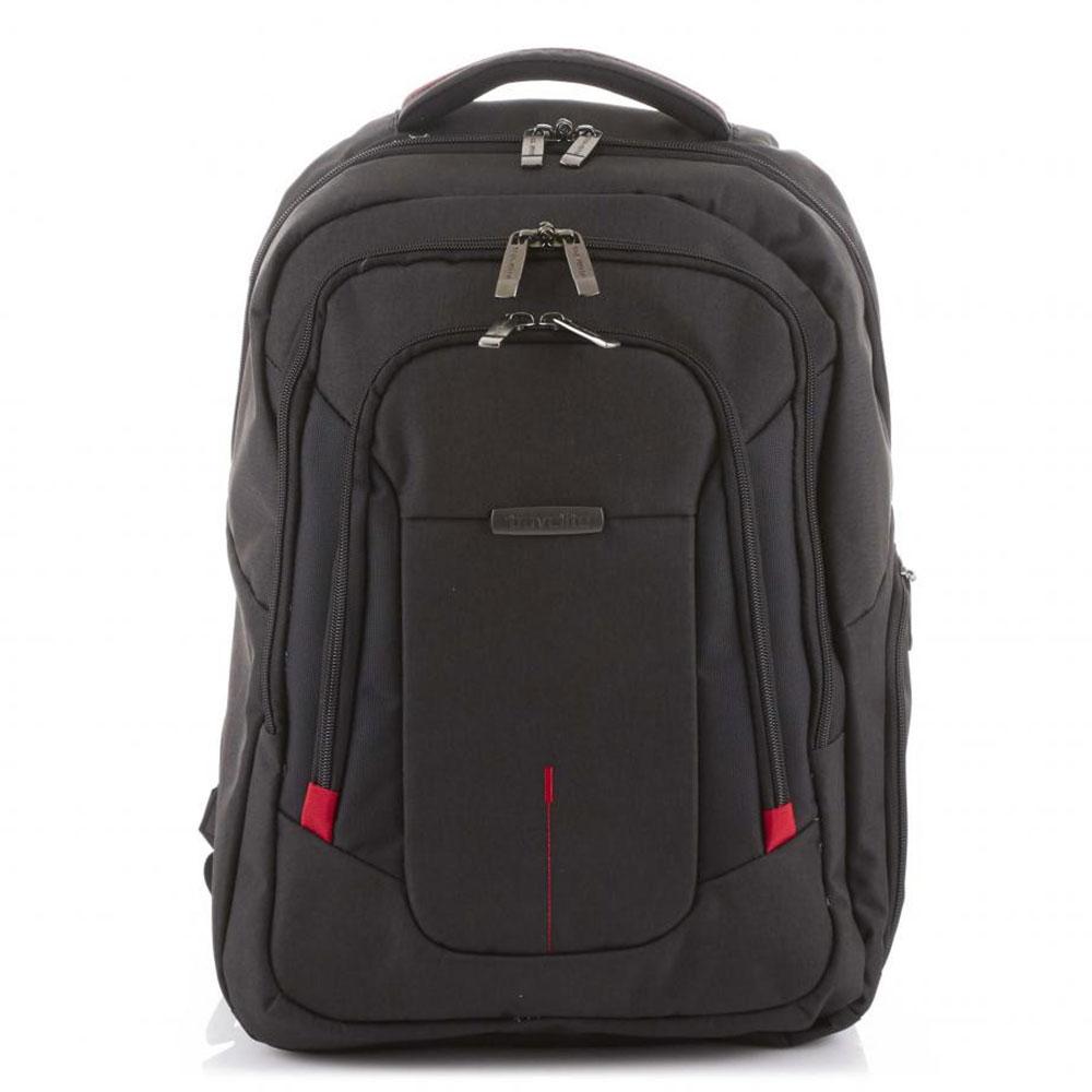 Travelite @Work Business Backpack Black Melange