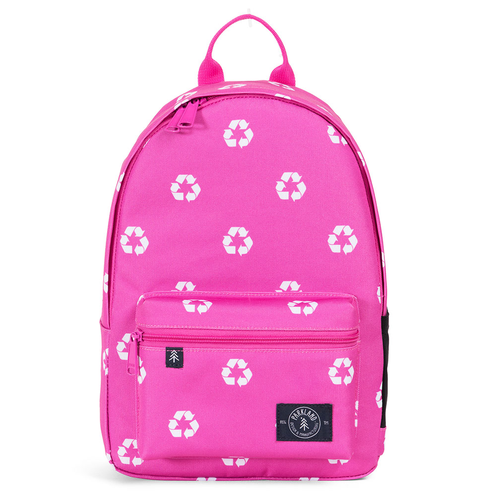 8331b792d00 Parkland Edison Kids Backpack Recycle Kiss