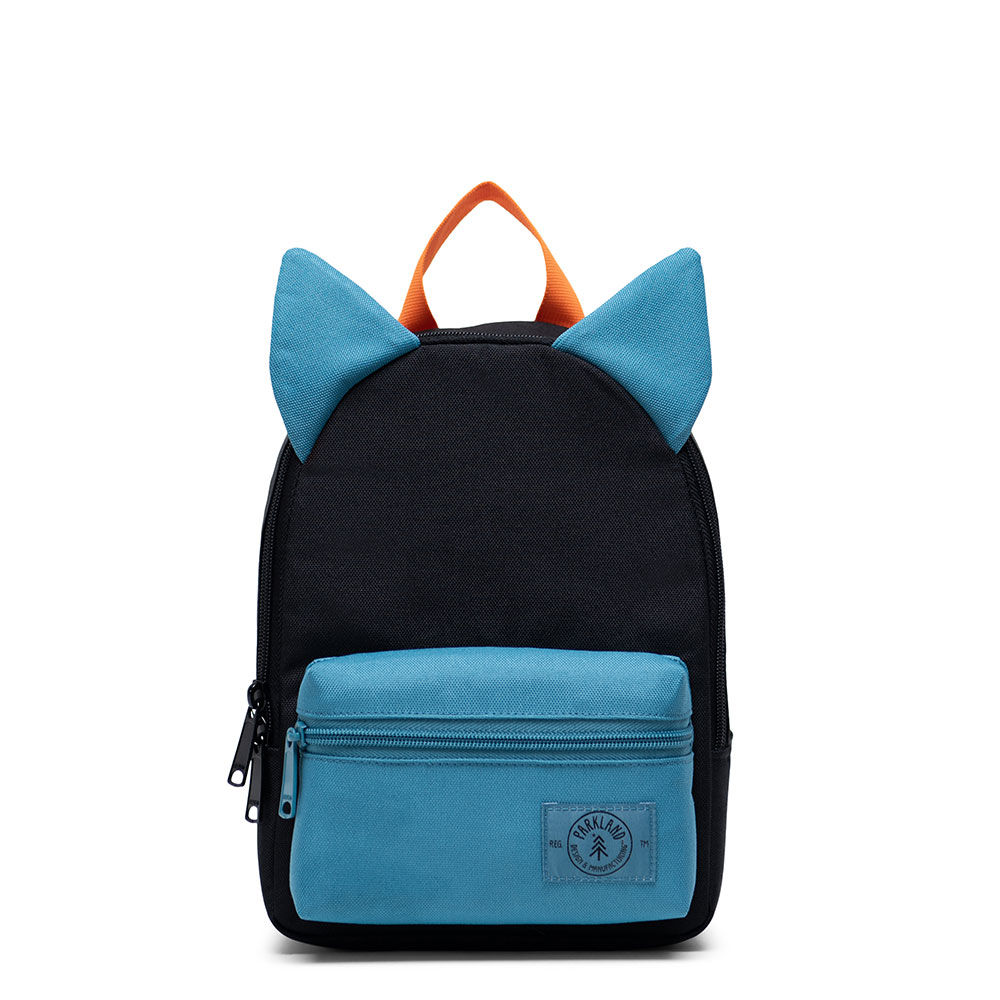Parkland Little Monster Kids Backpack Black Amber