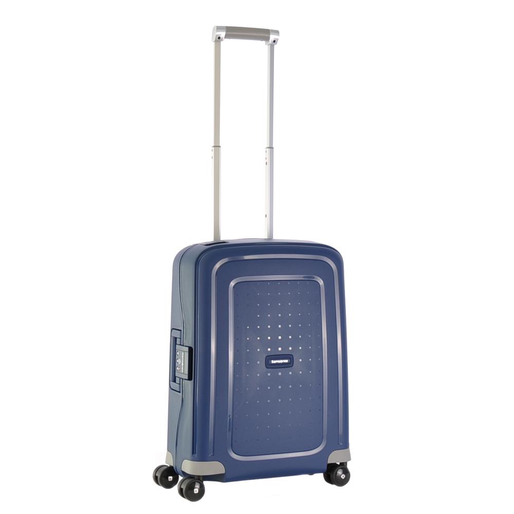 Samsonite S'Cure Spinner 55 Dark Blue - Koffers