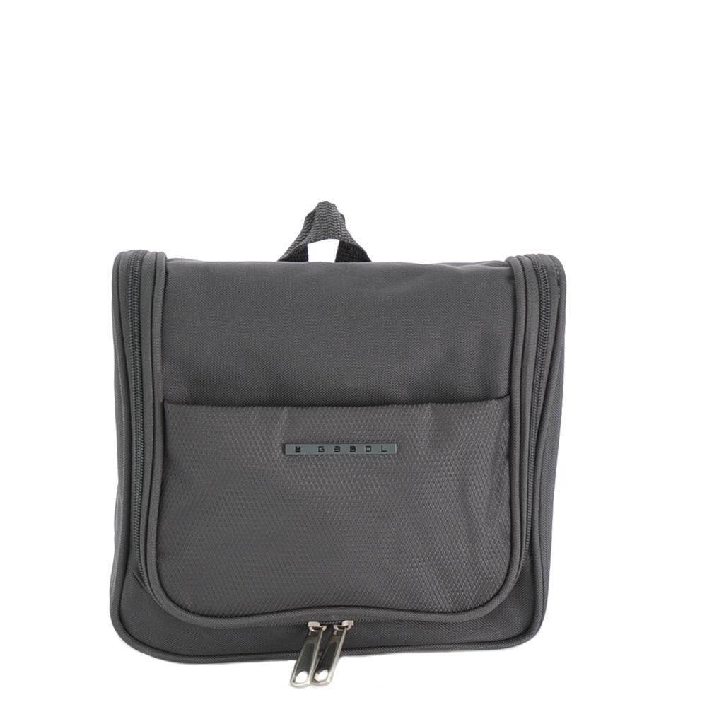 Gabol Zambia Cosmetic Toiletry Bag Grey