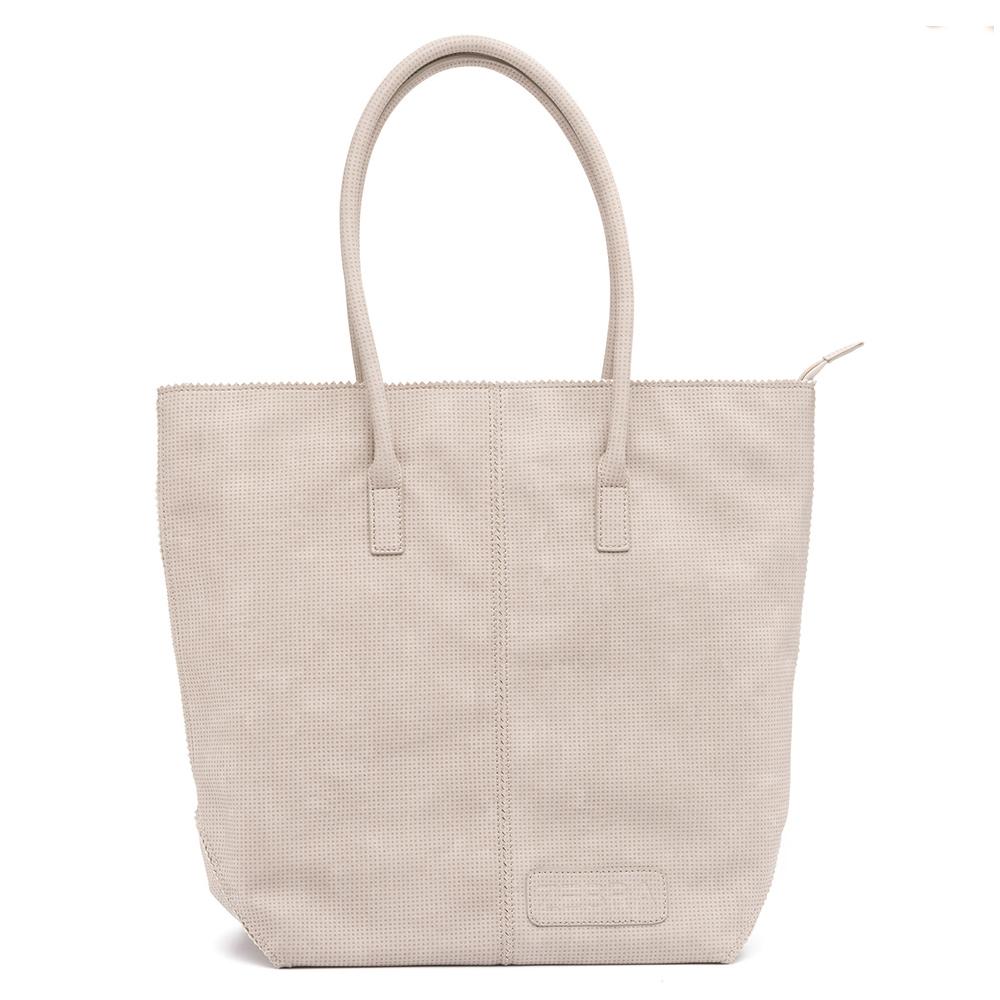 Zebra Trends Natural Bag Kartel Rits Vintage Light Grey