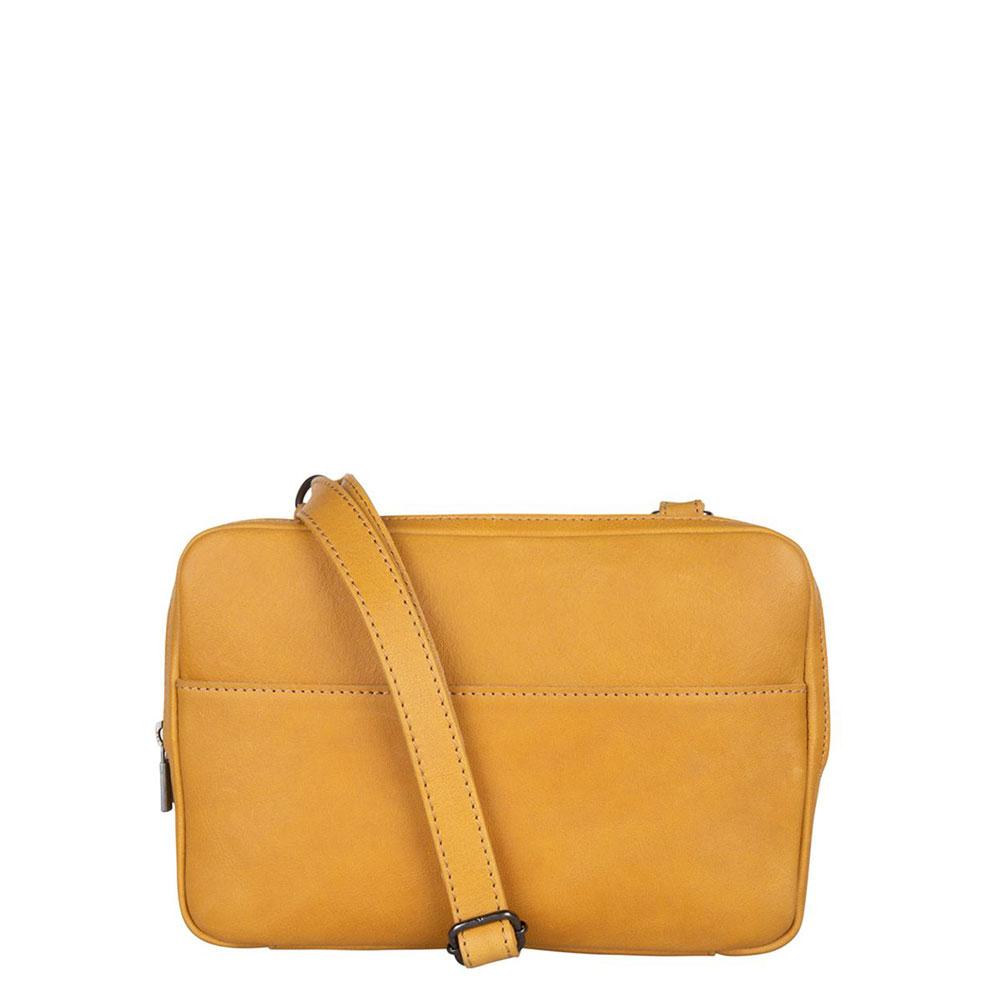 Cowboysbag Raw Bag Mica Schoudertas Amber