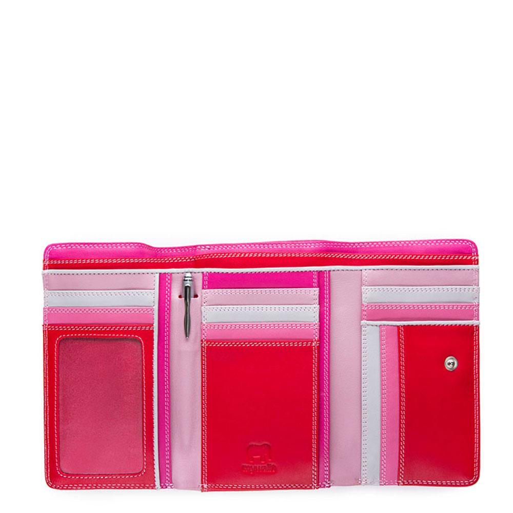 31f118aa7c1 Mywalit Medium Tri-Fold Wallet Portemonnee Ruby
