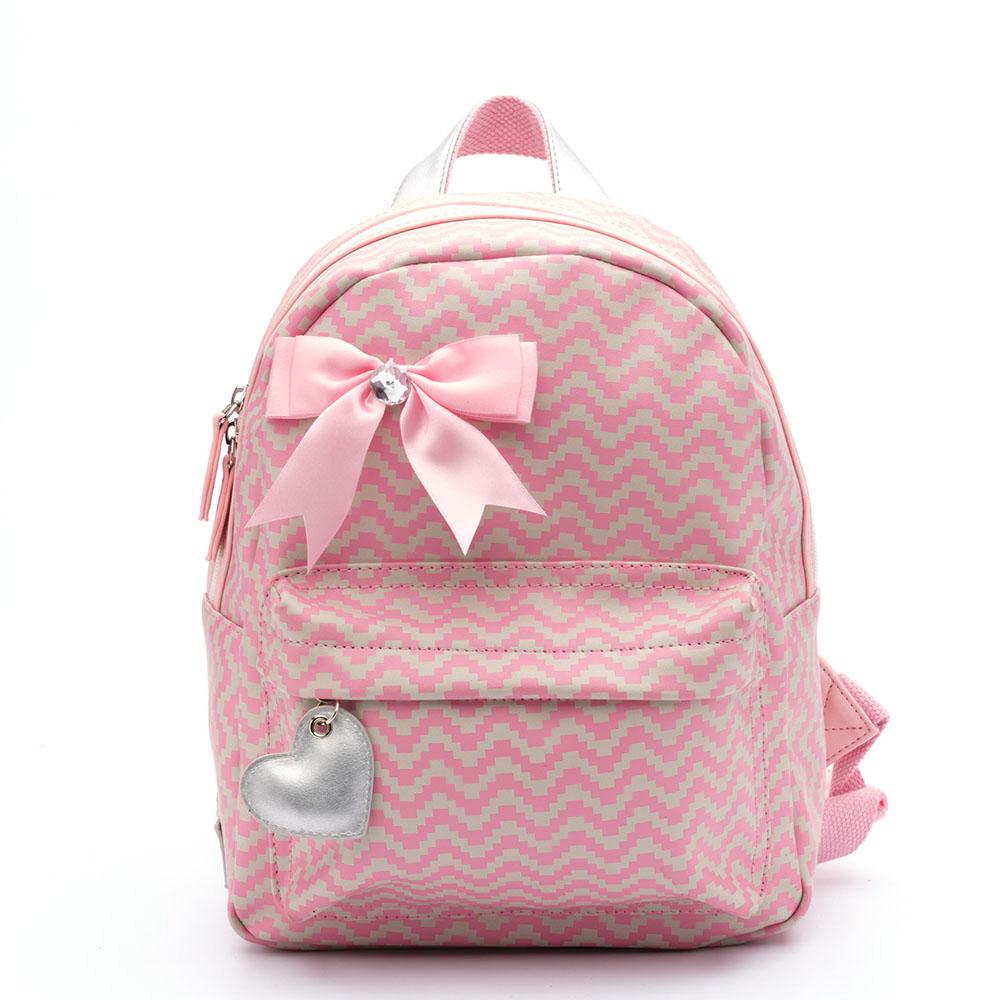 130c2087869 Zebra Trends Kinder Rugzak S Zigzag Pink