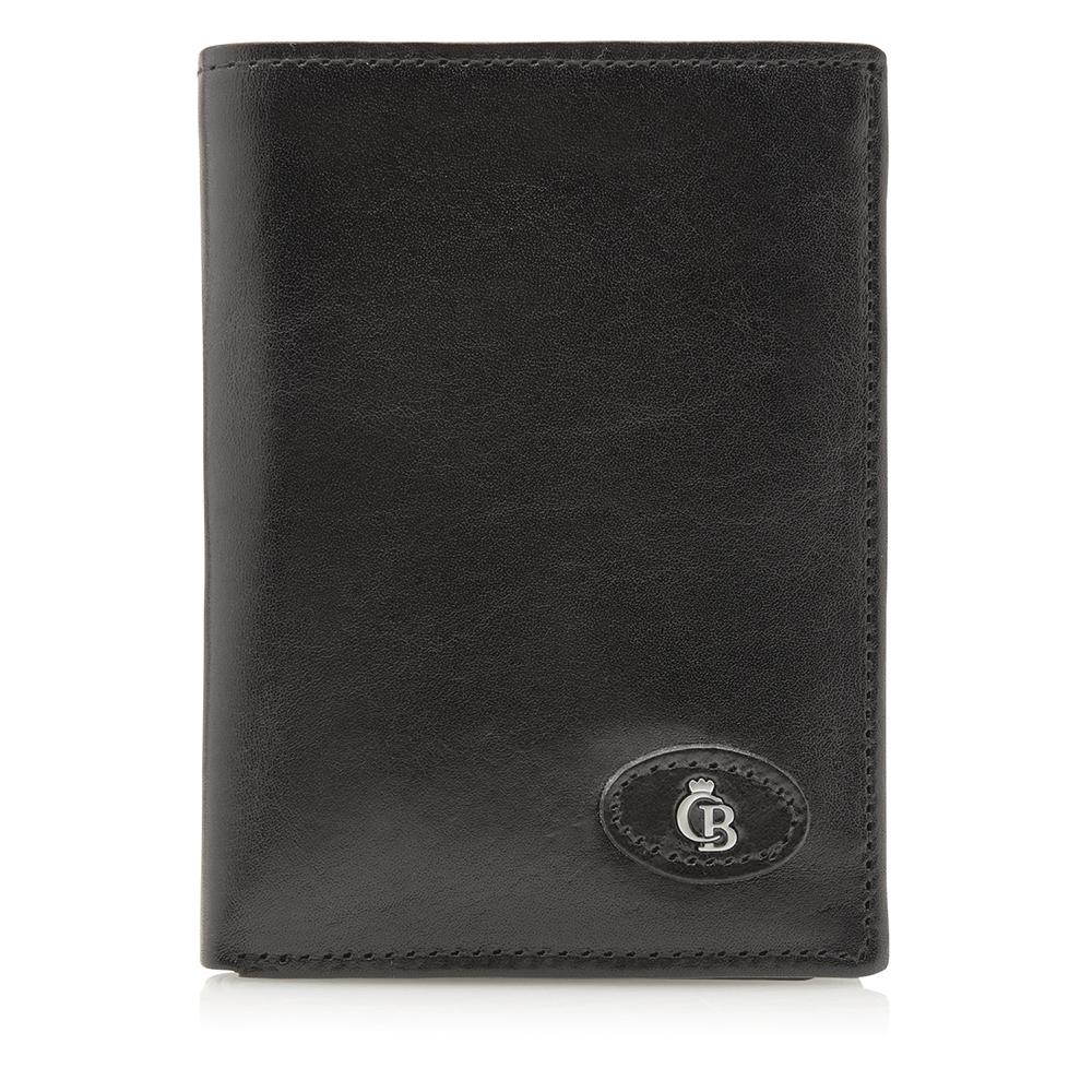 Castelijn & Beerens Gaucho Billfold Portefeuille RFID Black - Dames portemonnees