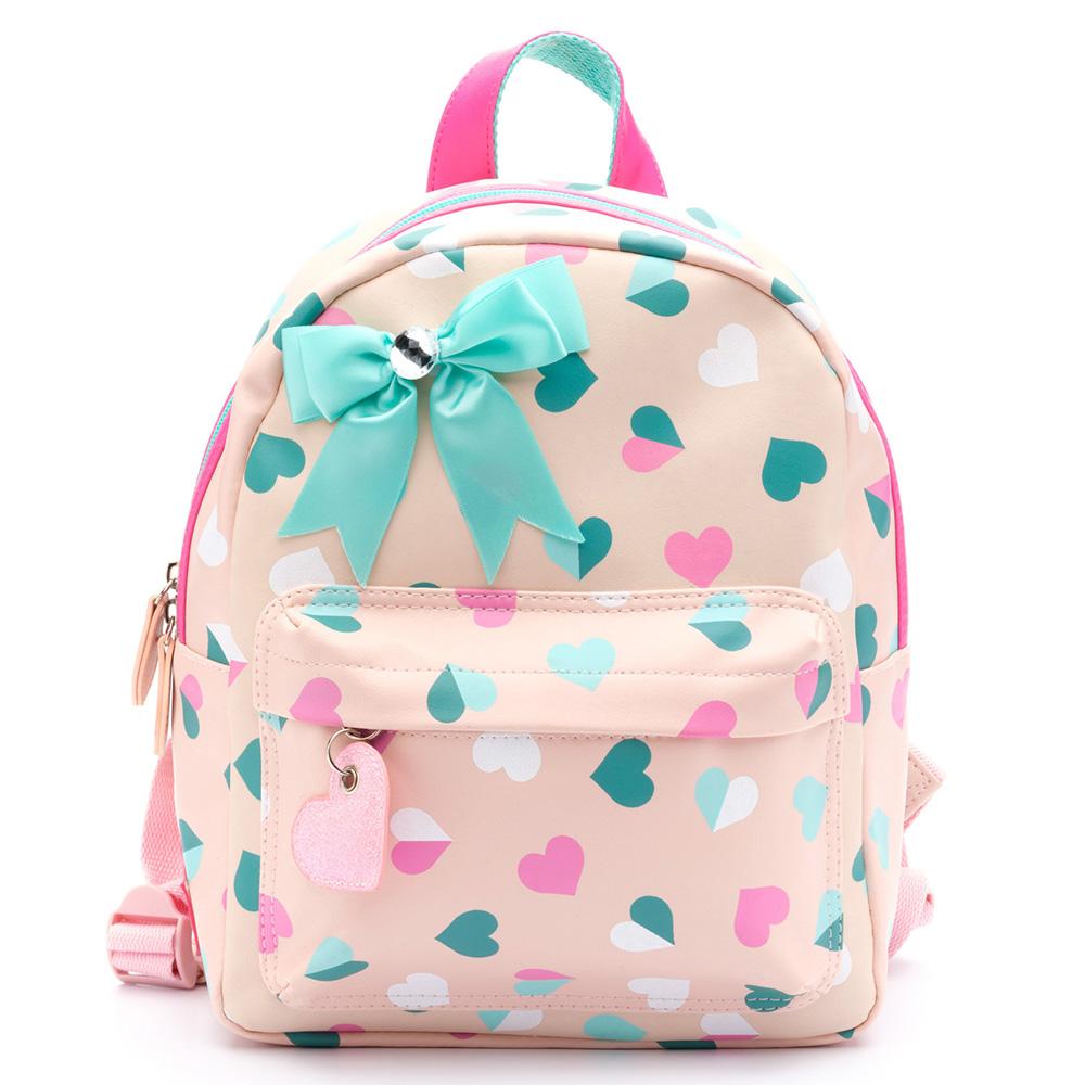 c0c8ea6a614 Zebra Trends Kinder Rugzak S Hearts Pink