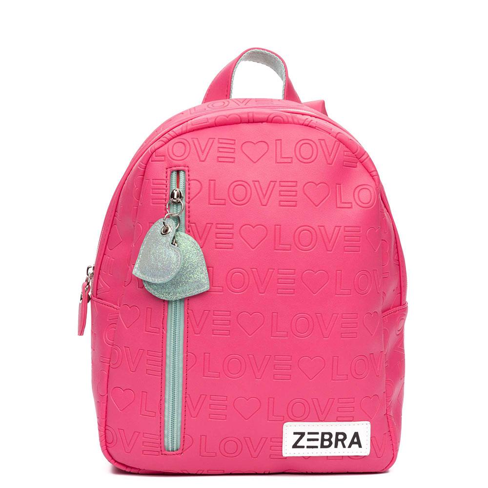 d16c4c28ad9 Zebra Trends Kinder Rugzak S Love Pink
