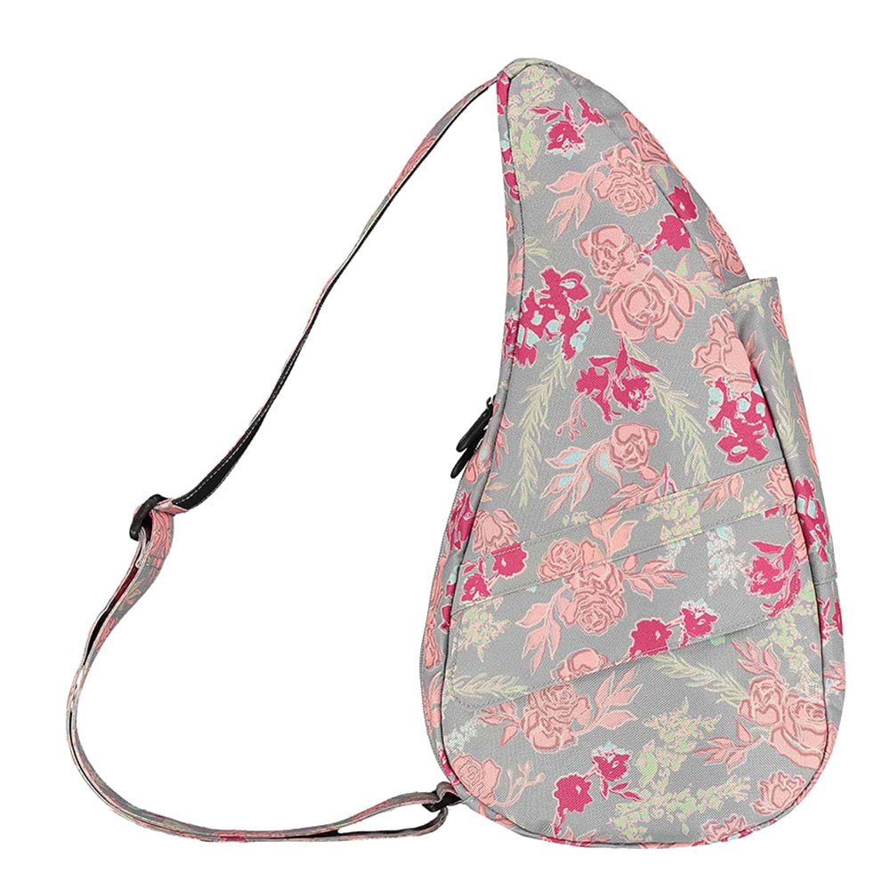 The Healthy Back Bag The Classic Collection S Print Rosebud Dove Grey