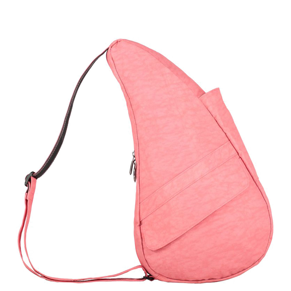The Healthy Back Bag The Classic Collection Textured Nylon S Geranium