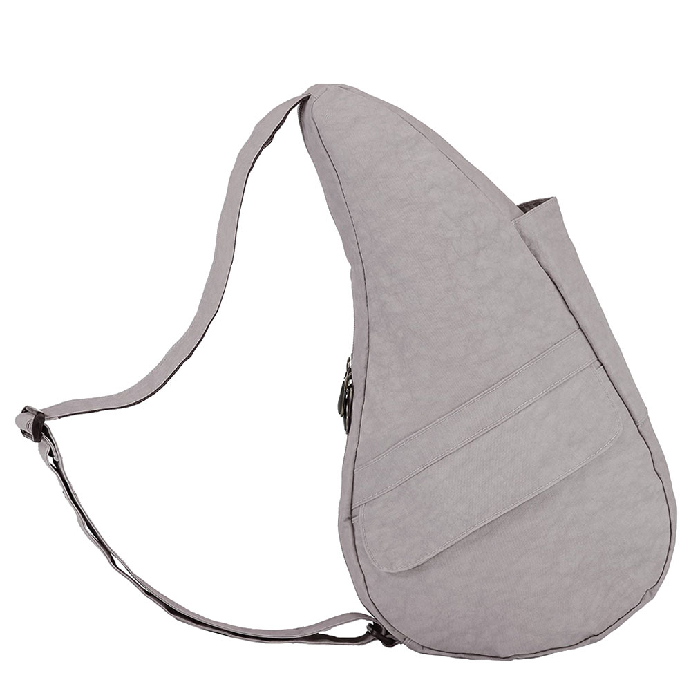 The Healthy Back Bag The Classic Collection Textured Nylon S Grey Fox
