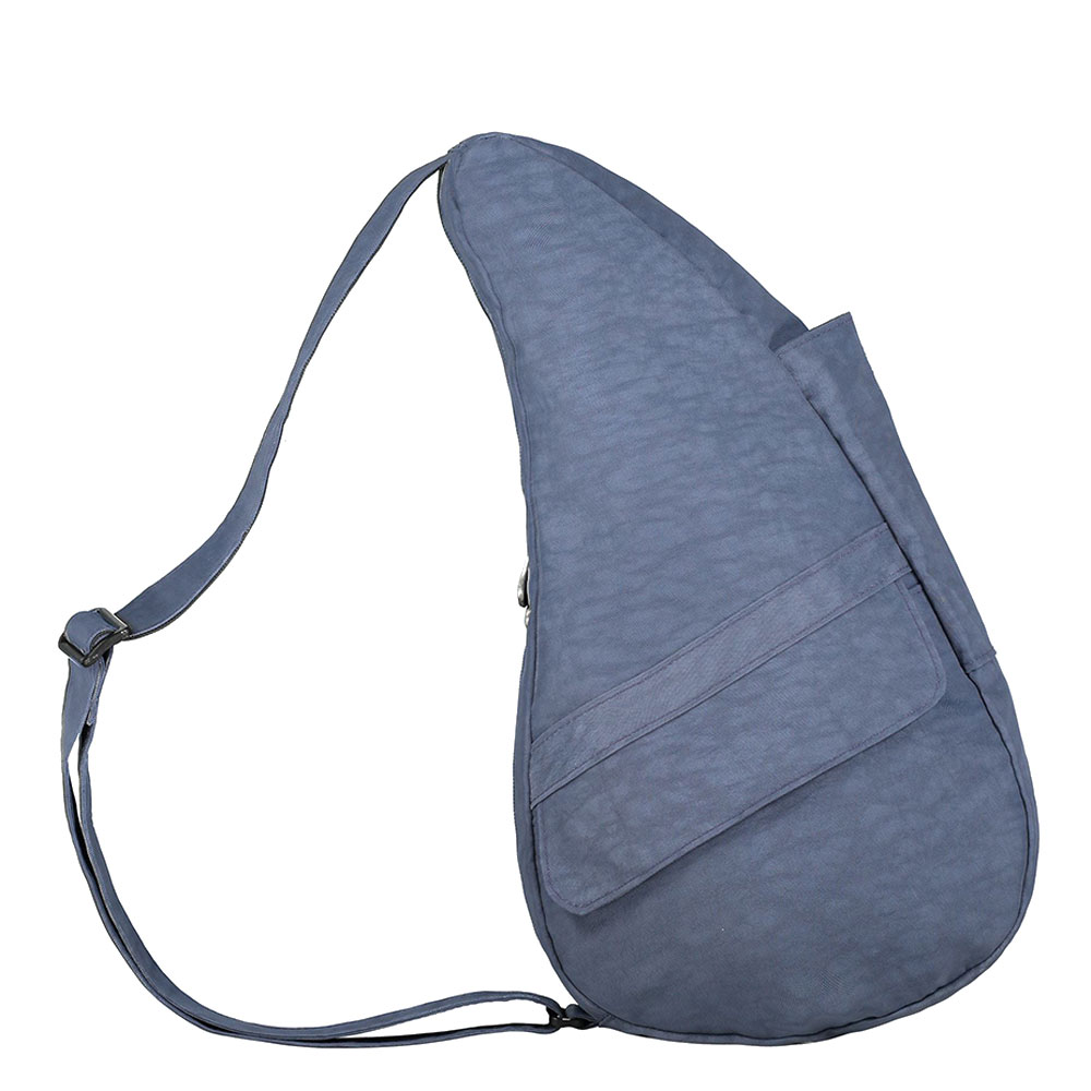 The Healthy Back Bag The Classic Collection Textured Nylon S Vintage Indigo