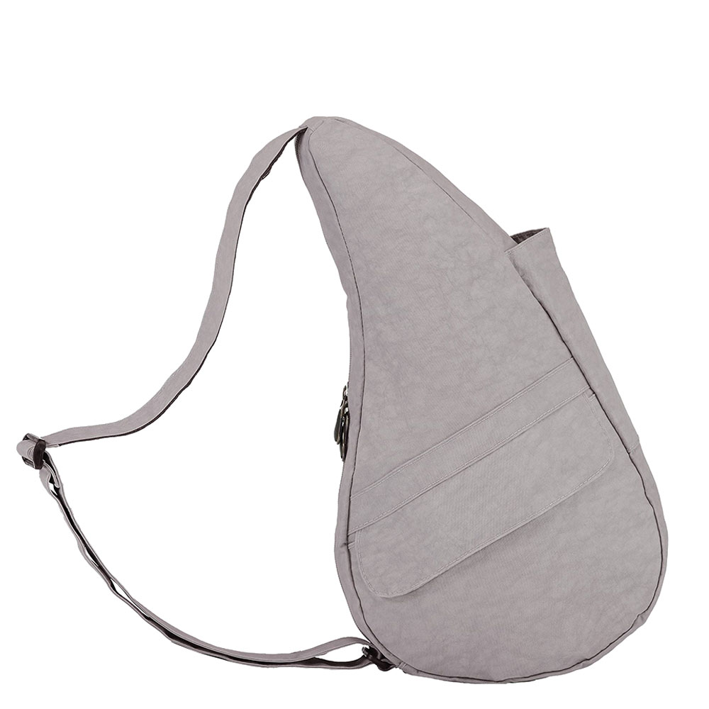 The Healthy Back Bag The Classic Collection Textured Nylon M Grey Fox