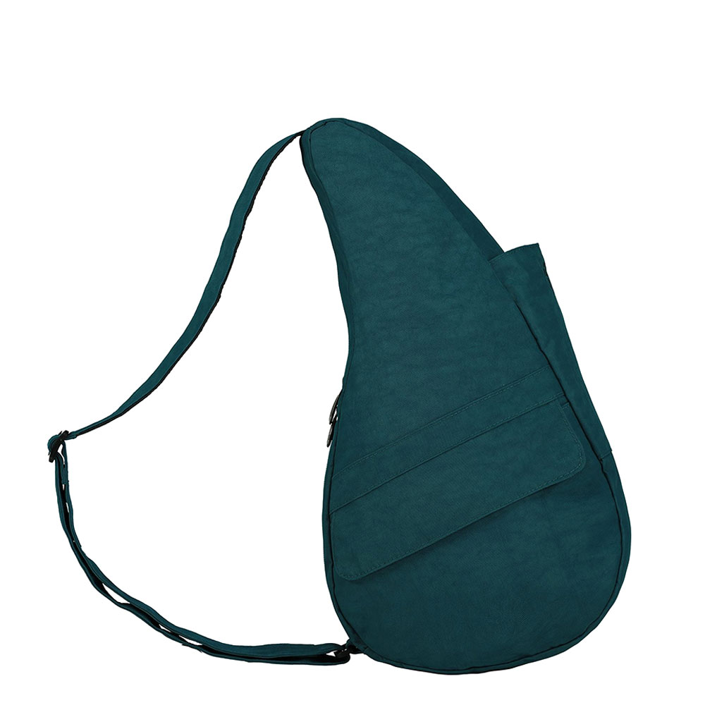 The Healthy Back Bag The Classic Collection Textured Nylon M Lagoon